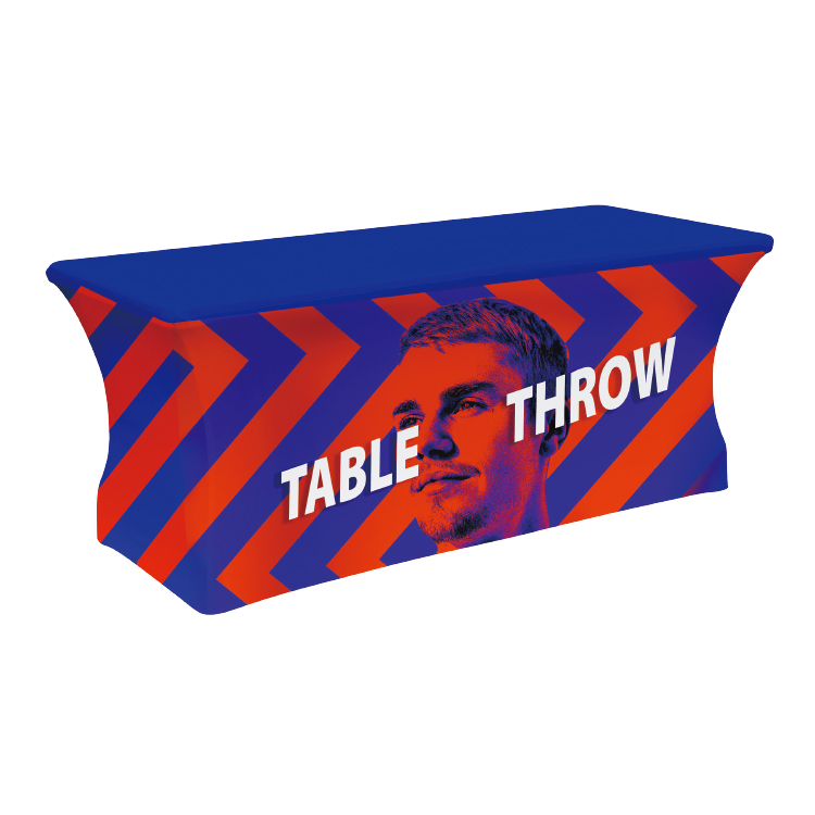 6ft.4-Sided Stretch Table Throw