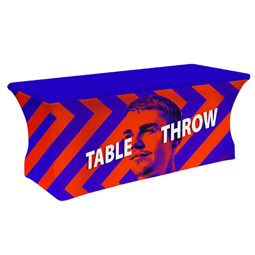 8ft.4-Sided Stretch Table Throw