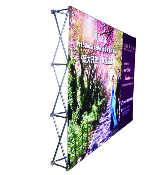 Straight Pop Up Displays 8ft E09A02