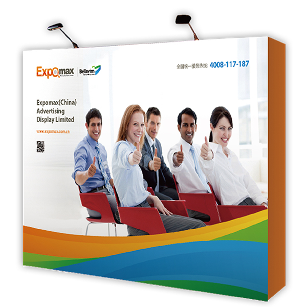 Straight Pop up Display 10ft E09A03