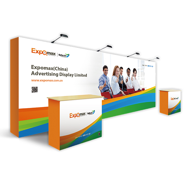 Straight Pop up Display 20ft E09A08