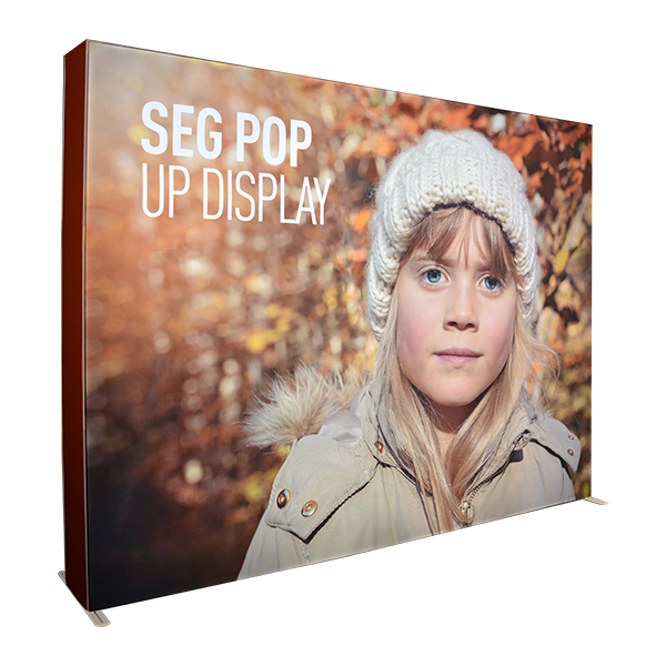 10ft SEG Pop up Display Stand